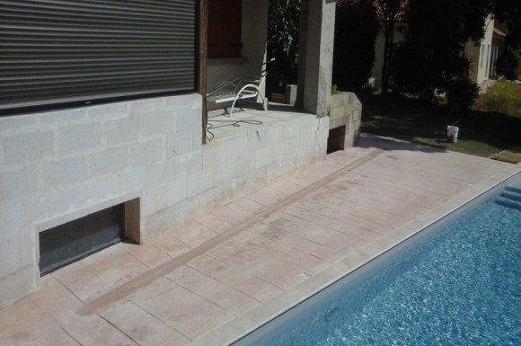 Entreprise pour le façonnage de margelle pour piscine sur mesure Mâcon