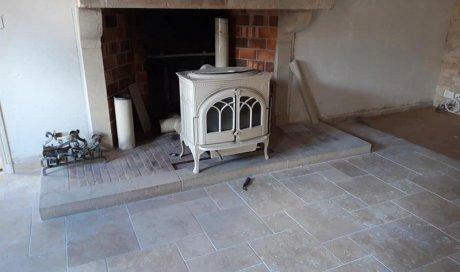 Spécialiste de la rénovation de dalle en pierre en maison ancienne Mâcon